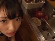 Wasa Yatabe gets kinky on a pulsating schlong