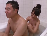Big tits Asian babe gets her wet muff drilled deep indoors