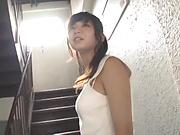 Kumakura Shouko gets naughty on a schlong
