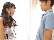 Nanase Miku sucks the dick in premium scenes