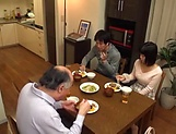 Juicy Japanese teen goes fucking with an old man