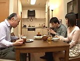 Juicy Japanese teen goes fucking with an old man picture 11