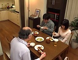 Juicy Japanese teen goes fucking with an old man picture 13