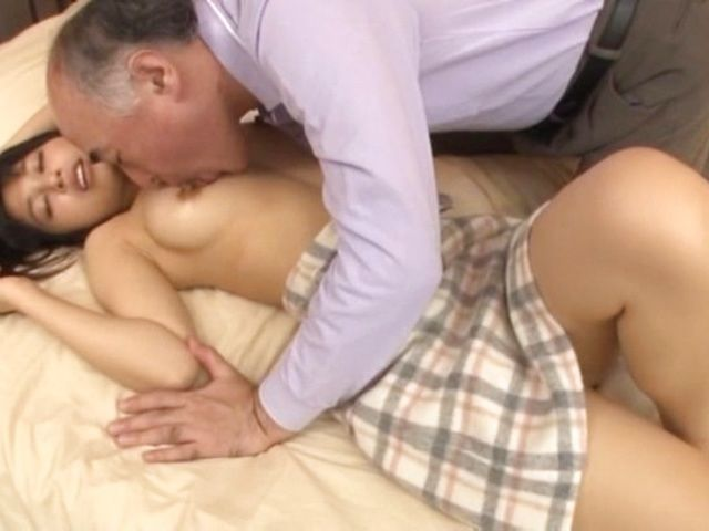 Old Lady Fucks Teen Girl