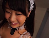 Minano Ai dresses up as maid and gives a hot blowjob