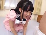 Mesmerizing cutie Aya Miyazaki likes dick deep her cunt picture 11