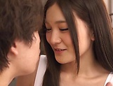 Hot teen babe Yuuki Aina goes all the way with her lover