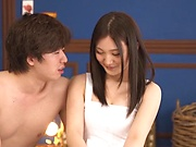 Amatrur teen Yuuki Aina finger fucked on live cam
