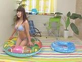 Yuuai Kamiki enjoys a true hardcore session
