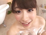 Ookura Miyu ,erotically pleases in a pov scene
