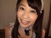 Beautiful amateur teen Ai Minano  gets fucked indoors