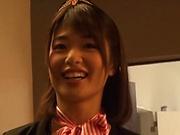 Enchanting Kawakami Nanami awesome sex with hunk dude