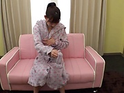 Teen fuck doll is moaning from pleasure