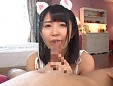 Asada Yuuri romantic blowjob in perfect POV scenes
