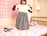 Yuikawa Chihiro Asuka Hoshino naughty teen model in solo masturbation picture 14