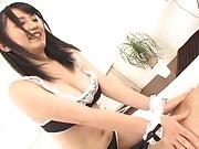 Sakai Satomi ,make a dude get a cumshot