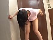 Hot teen Saitou Miyu knows how to blow stiff poles
