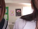 Amazing Japanese schoolgirls in action