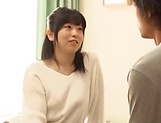 Shy Asian babe ends up sucking cock and fucking