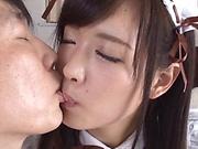 Sakura Miyuki excels in her dick riding skills