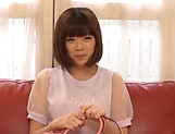 Cute Asian beauty likes the taste hot hard cock
