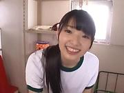 Wasa Yatabe enjoys choking on a dick
