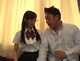 Katou Honoka is a very horny schoolgirl