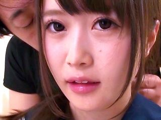 Momo Ichinose hard fucked by boyfriend in amateur show