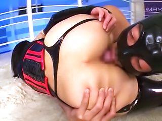 Hardcore scene involving kinky love Sakuno Kanna