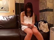 Hot Japanese amateur porn play with a gorgeous teen