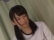 Sakai Satomi ,gets a messy facial