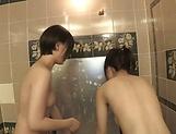 Toy session involving Suzumi Misa and inamura Hikari