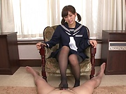 Akiyoshi Kanon ,featured in a kinky hardcore action