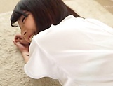 Cute Ishigami Satomi in hardcore anal pounding session
