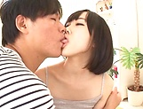 Kinky teen Rin Aoki gets her ass fingerd, licked and toyed