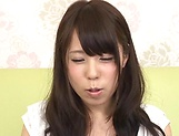Kasai Ami gets her cunt fisted to her utmost delight. picture 12