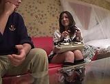 Akitsuki Reina is cheating and enjoying
