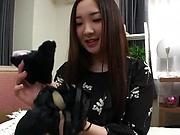 Niina Fuji wants the fucker down her tight ass