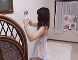 Maria Wakatsuki butt fucked while playing with her pussy picture 14