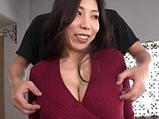 Kuwata Minori is a hot, cheating milf