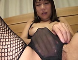 Hot Mizuki An gets her ass pounded hardcore indoors picture 12