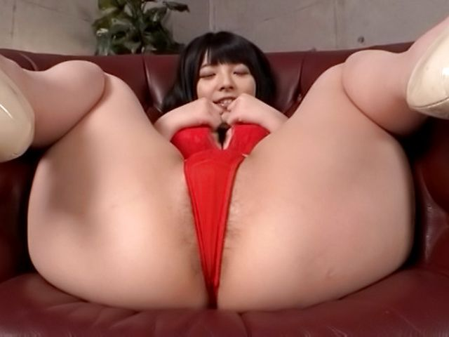 Uehara Ai loves having her tight asshole toyed