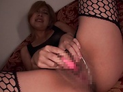 Exquisite Mochizuki Helene Angelica enjoying anal