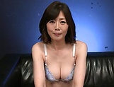 Strong anal sex for a Japanese mature in heats