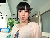 Japanese brunette likes hardcore sex picture 2