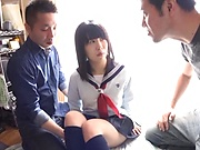 Yumeno is a naughty Japanese schoolgirl