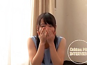 Ooshima Mio gets her tiny tits teased