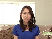 Sexy Japanese milf insane bukkake porn play on cam