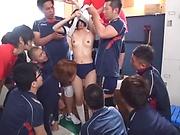 Katou Honoka likes bukkake and headfuck