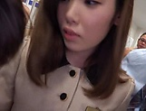 Shiori Ootani group fucked at work by a bunch of men